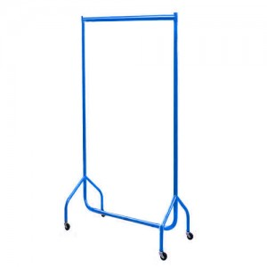 Blue Garment Rail