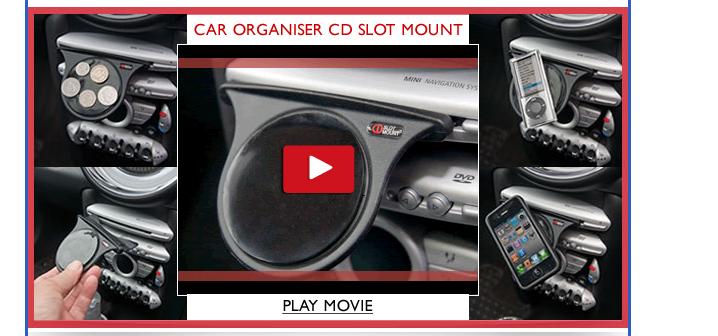 CD Slot Mount