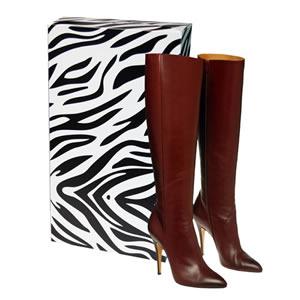 zebra boot boxes