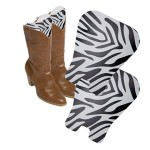 zebra print boot shapers