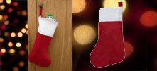 Free Christmas Felt Stocking