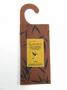 Colibri Hanging Sachet for moth control