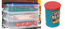 Food Storage Containers from Caraselle