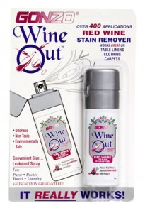 Gonzo Wine Out Spray