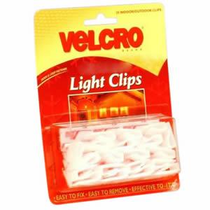 Velcro Light Clips
