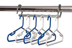Space Saver for childrens hangers