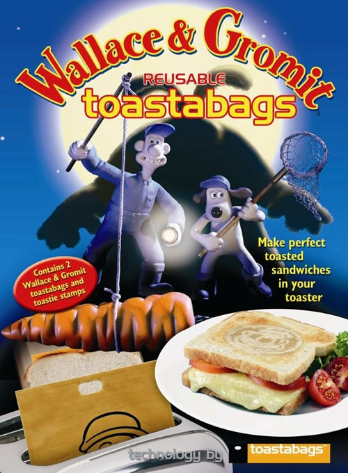 wallace and gromit toastabags