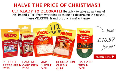 Velcro Christmas Pack - Half Price