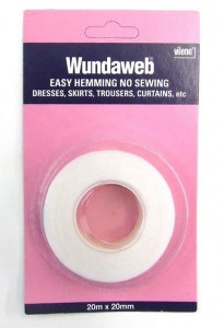 haberdashery wundaweb hemming tape